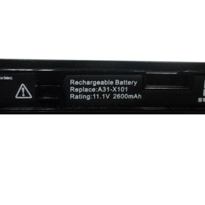Аккумуляторная батарея Asus A31-X101 11,1v 2200mAh, черная