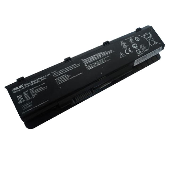Аккумуляторная батарея Asus A32-N55 10,8V 4800mAh, черная