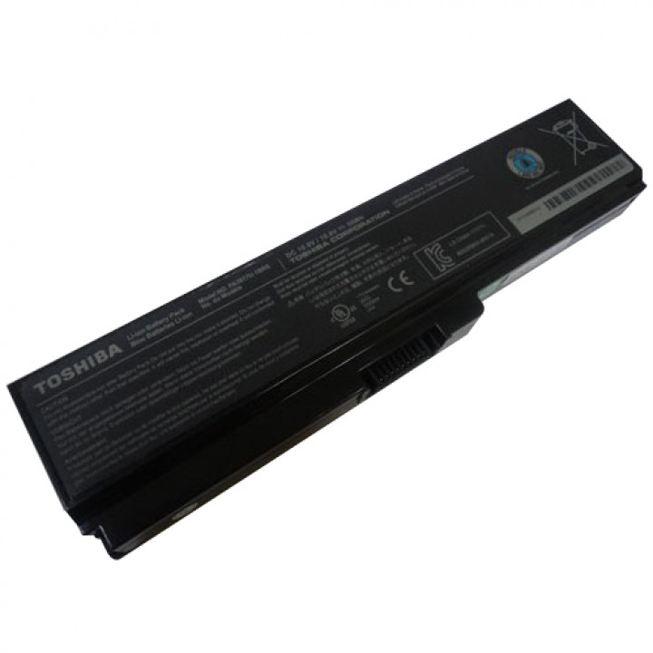 Аккумуляторная батарея Toshiba PA3817 10,8v 5500mAh, черная