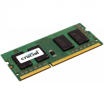Модуль памяти SODIMM DDR3L 1600MHz (PC-12800) 4Gb Crucial CT51264BF160, 1.35V, Retail