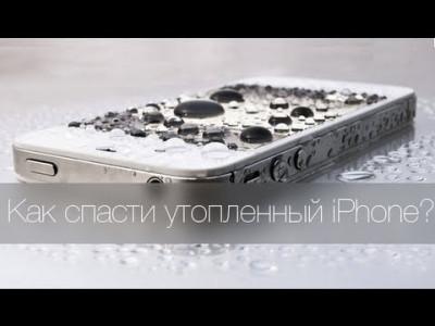 Как спасти утопленный iPhone 5