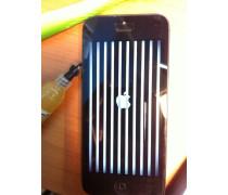 Полосы на экране iphone 5