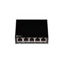РоЕ коммутатор для IP камер видеонаблюдения Optimus UM1-E5/4P mini