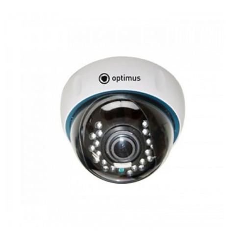 Купольная IP Камера видеонаблюдения Optimus IP-E022.1(2.8-12)P