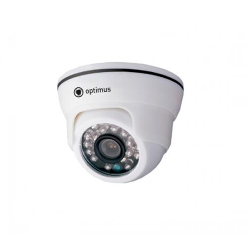 Купольная IP Камера видеонаблюдения Optimus IP-E021.0(2.8)
