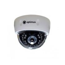 Купольная IP Камера видеонаблюдения Optimus IP-E021.3(3.6)P