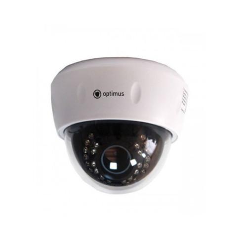 Купольная IP Камера видеонаблюдения Optimus IP-E022.1(2.8-12)P_V2035