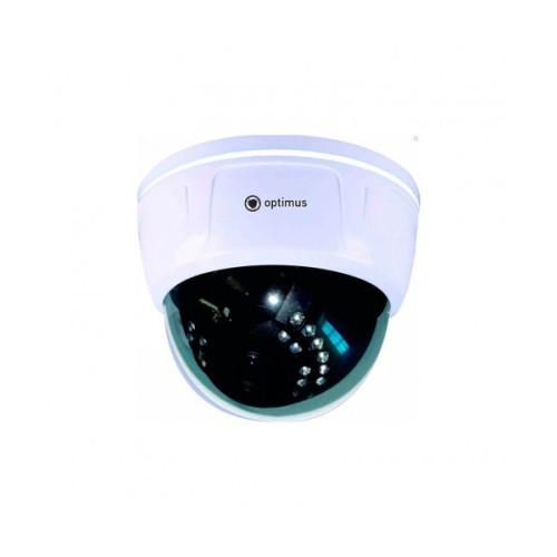 Купольная IP Камера видеонаблюдения Optimus IP-E024.0(2.8-12)P