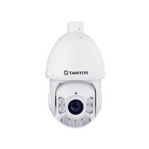 Поворотная PTZ IP Камера видеонаблюдения Tantos TSi-SDW331Z30IR