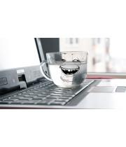 Попадение жидкости на ноутбук