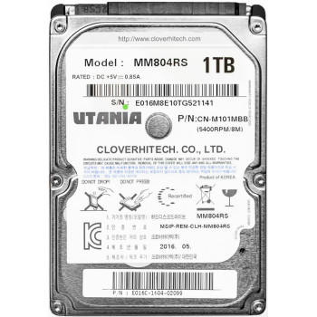 "Жесткий диск  1 Tb Utania MM804RS, HDD 2.5"", 8Mb, 5400 RPM"