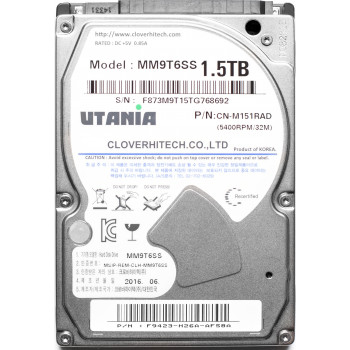 "Жесткий диск  1,5 Tb Utania MM9T6SS, HDD 2.5"", 32Mb, 5400 RPM"