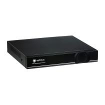Цифровой гибридный Видеорегистратор для AHD камер видеонаблюдения Optimus AHDR-2004HL_H.265