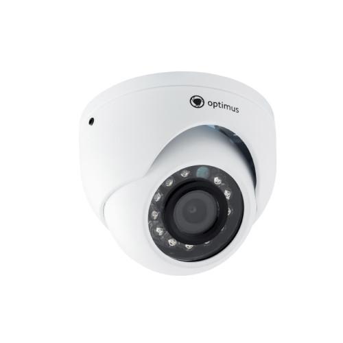 Купольная AHD Камера видеонаблюдения Optimus AHD-H052.1(3.6)E