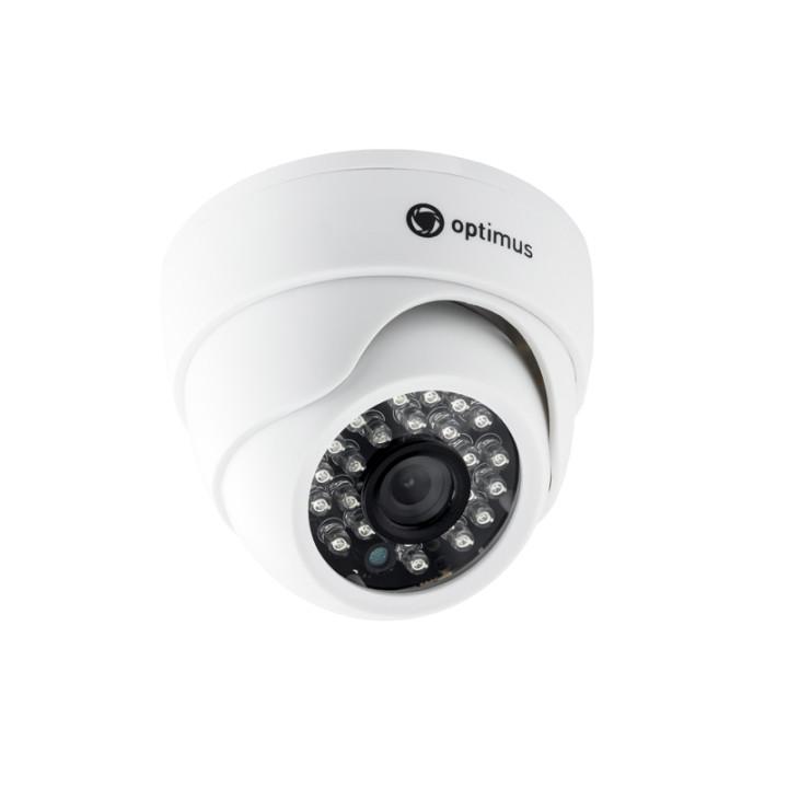 Купольная AHD Камера видеонаблюдения Optimus AHD-H022.1(2.8)
