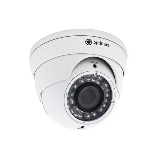 Купольная AHD Камера видеонаблюдения Optimus AHD-H042.1(2.8-12)_V.2