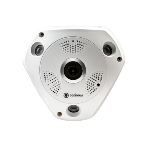 Купольная AHD Камера видеонаблюдения Optimus AHD-H112.1(1.7)