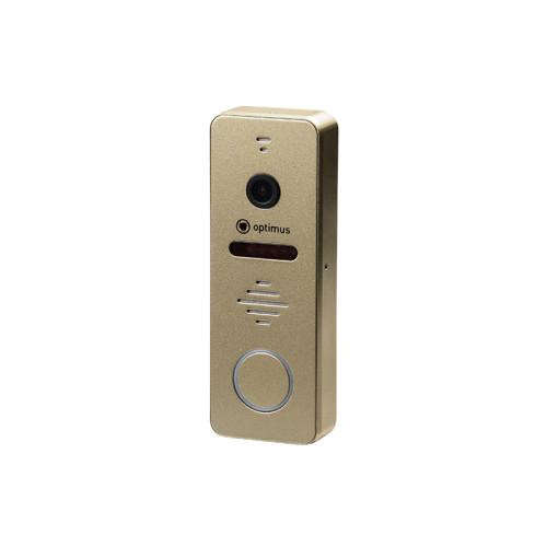 Вызывная панель домофона Optimus DSH-1080 (золото)