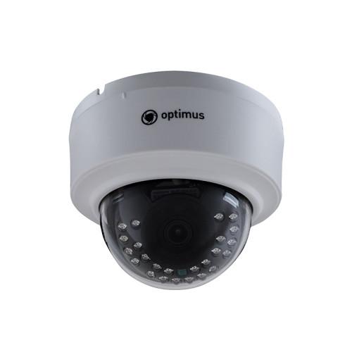 Купольная IP Камера видеонаблюдения Optimus IP-E022.1(2.8)AP_V.2