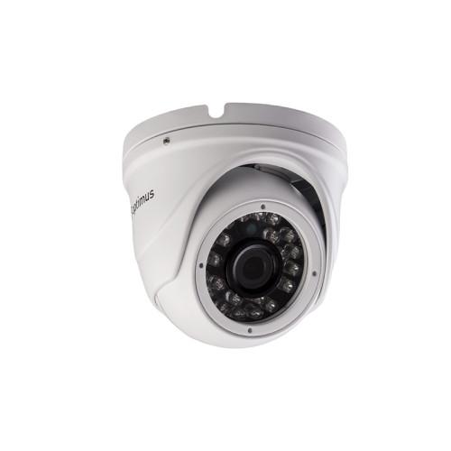 Купольная IP Камера видеонаблюдения Optimus IP-E042.1(2.8)P_H.265