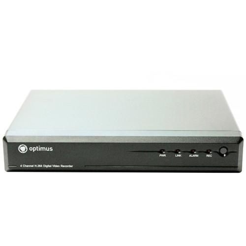 Видеорегистратор для AHD камер видеонаблюдения Optimus REC-1008E