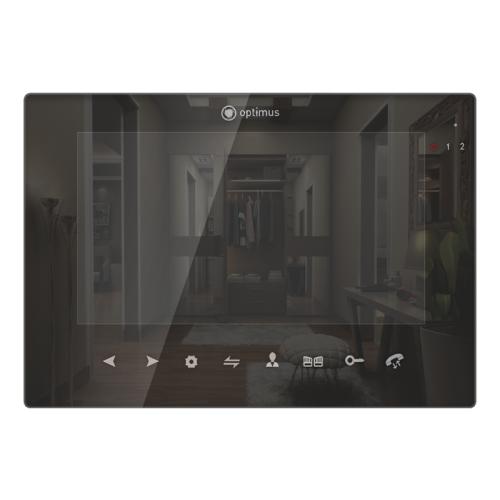 Видеодомофон Optimus VMH-7.1 черный