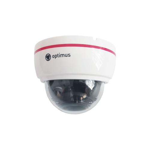 Купольная AHD Камера видеонаблюдения Optimus AHD-H022.1(2.8-12)E