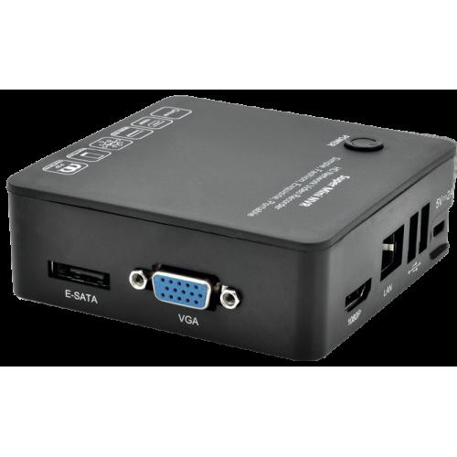 Видеорегистратор для IP камер видеонаблюдения Optimus NVR-1040 mini