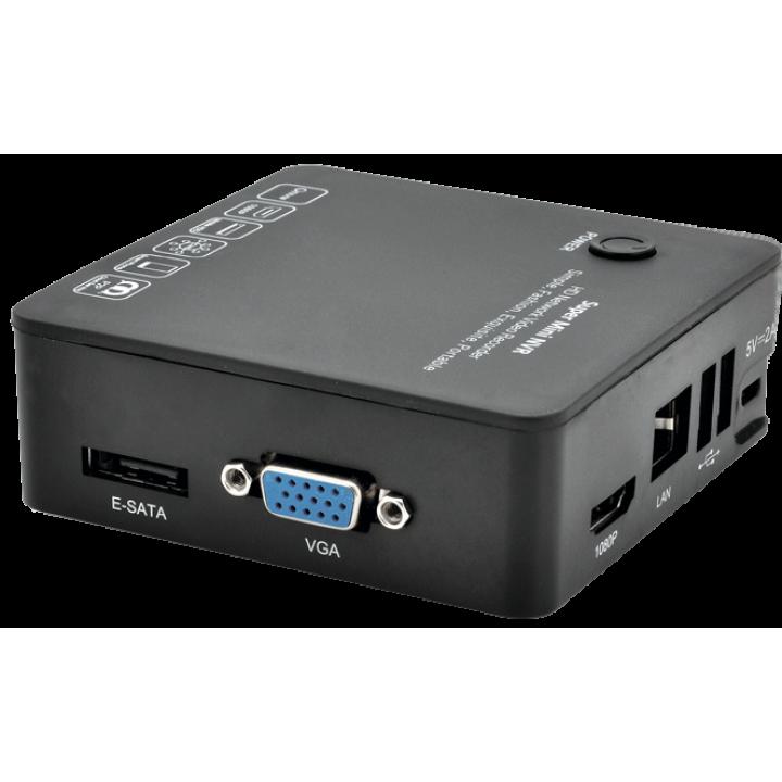 Видеорегистратор для IP камер видеонаблюдения Optimus NVR-1080 mini