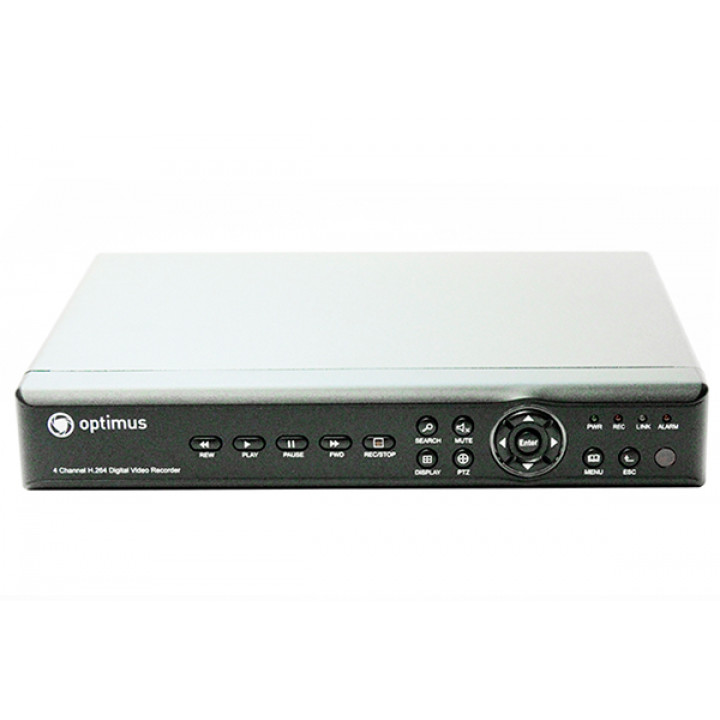 Видеорегистратор для AHD камер видеонаблюдения Optimus REC-1004