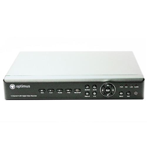 Видеорегистратор для AHD камер видеонаблюдения Optimus REC-1008