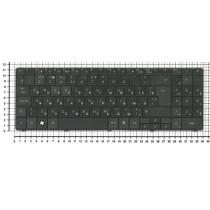 Клавиатура для ноутбука Packard Bell SL51 черная