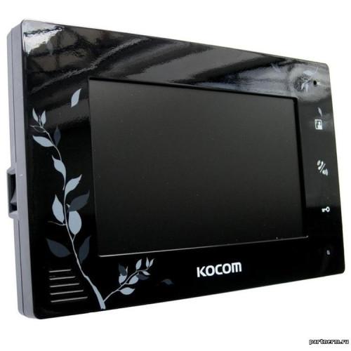 Видеодомофон Kocom KCV-A374LE (чёрный) Digital