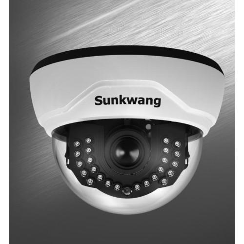 Купольная AHD Камера видеонаблюдения Sunkwang SK-D300IRD/M556AIP (2,8-12)  ICR