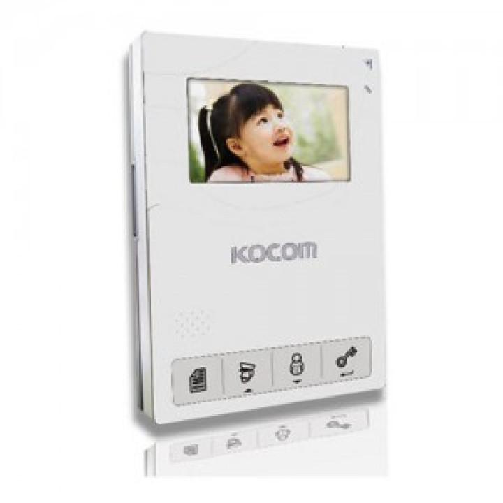 Видеодомофон Kocom KCV-434SD белый