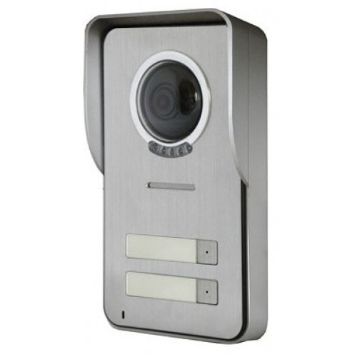Вызывная панель домофона Kenwei KW-S201C-2B-600TVL с козырьком