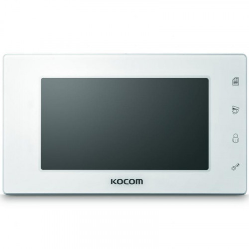 Видеодомофон Kocom KCV-544 белый зеркальный