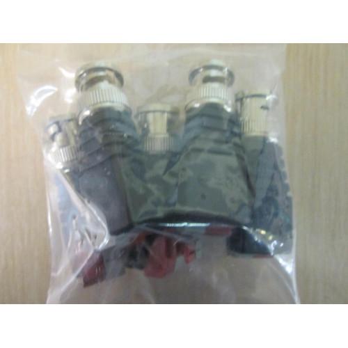 Комплект Пассивный приемник-передатчик HD камер видеонаблюдения по витой паре J2000-BNC:FK