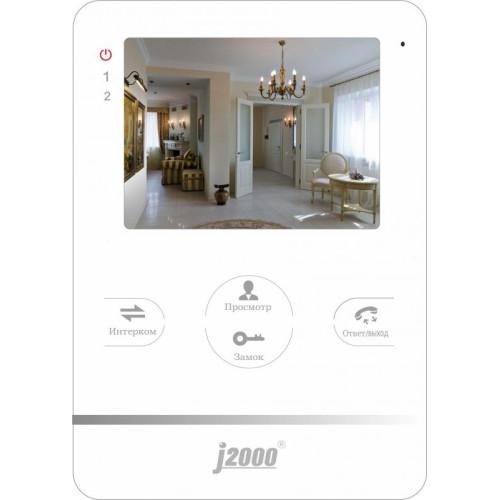 Видеодомофон J2000-DF-ИЗАБЕЛЛА (белый)