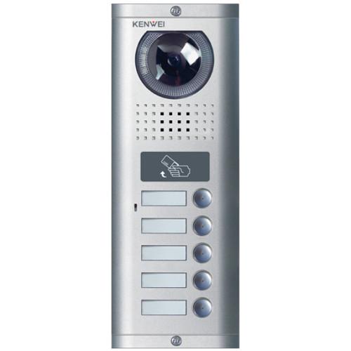 Вызывная панель домофона Kenwei KW-138EMC-5B-600TVL