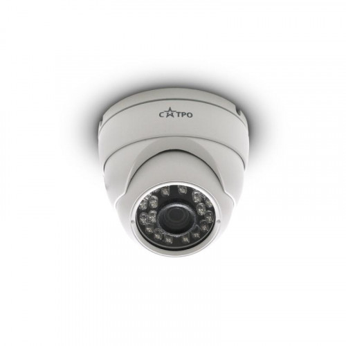 Купольная AHD Камера видеонаблюдения САТРО-VC-МDV20F (3,6)