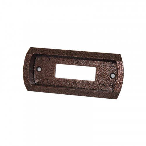 Врезная монтажная коробка вызывной панели домофона Сатро-05 PAL (антик)