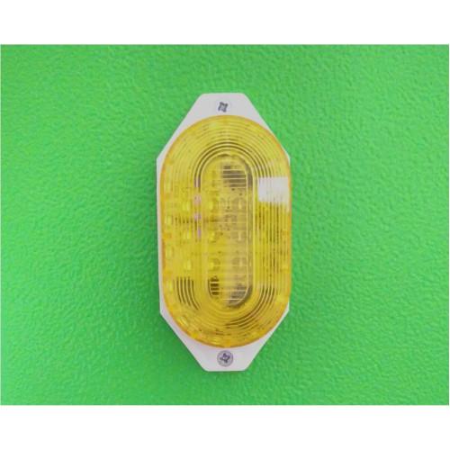 Строб-лампа Светодиодная накладная, жёлтая