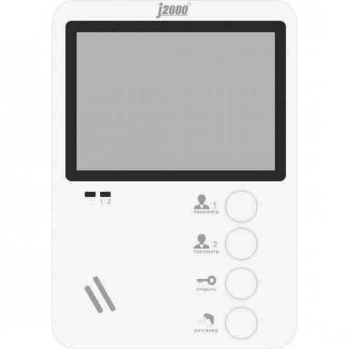 Видеодомофон J2000-DF-ЕКАТЕРИНА (белый) VIZIT