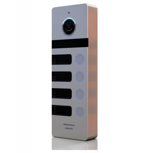 Вызывная панель домофона САТРО-DP-04-HD110-S (серебро панель 110гр 800твл)