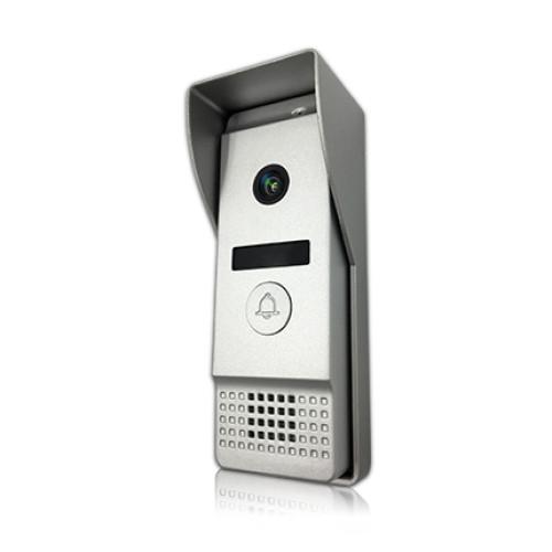 IP Вызывная панель домофона J2000-DF-АГАТ AHD (серебро)