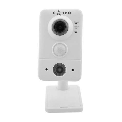 Корпусная Wi-Fi-IP Камера видеонаблюдения САТРО-VC-NKI40F-WFA (2.8)
