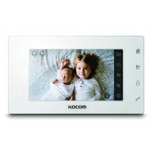 Видеодомофон Kocom KCV-544SD AHD белый