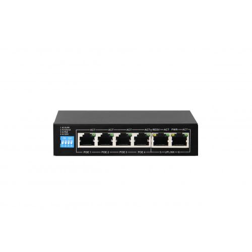 РоЕ коммутатор для IP камер видеонаблюдения J2000-NET-SWG04P2Ui