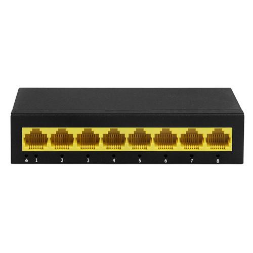 РоЕ коммутатор для IP камер видеонаблюдения J2000-NET-SWG08U